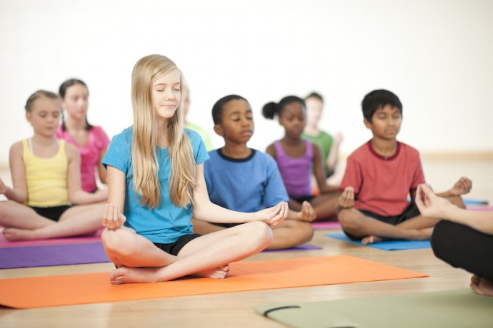 Pictures Of Kids Meditating